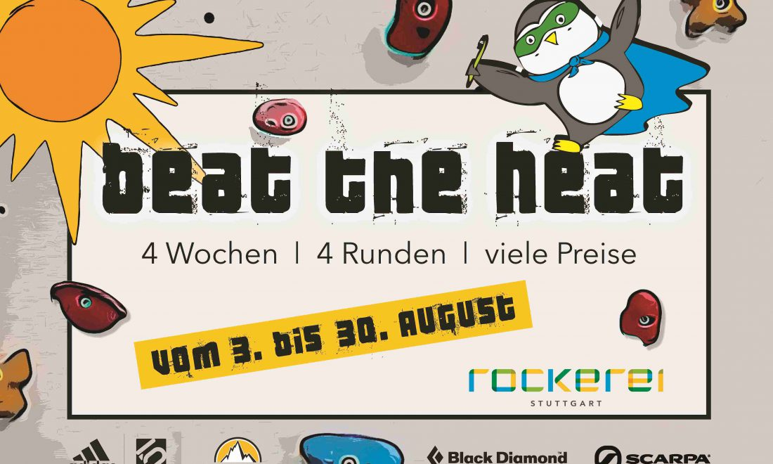 Beat the heat 2020 - Plakat A3 - klein